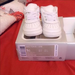 Air Force 1 size 1c infant